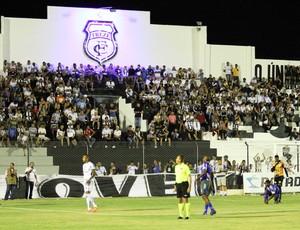 Treze x Cruzeiro-PB, no Estádio Presidente Vargas (10ª rodada da 1ª fase do Campeonato Paraibano 2013) (Foto: Magnus Menezes / Jornal da Paraíba)