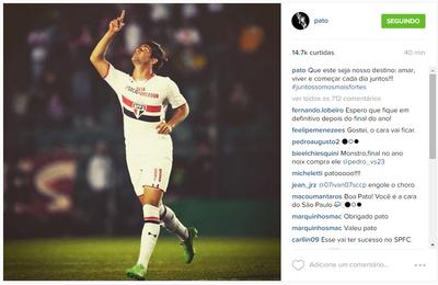Pato Instagram (Foto: Reprodução/Instagram)