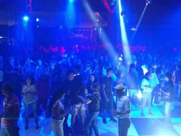Festa animou público no Studio 5 (Foto: Karla Lacerda/Rede Amazônica)