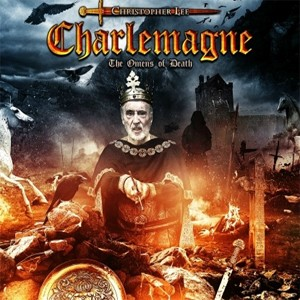 'Charlemagne; The omens of death', segundo álbum do ator Christopher Lee (Foto: Divulgação)