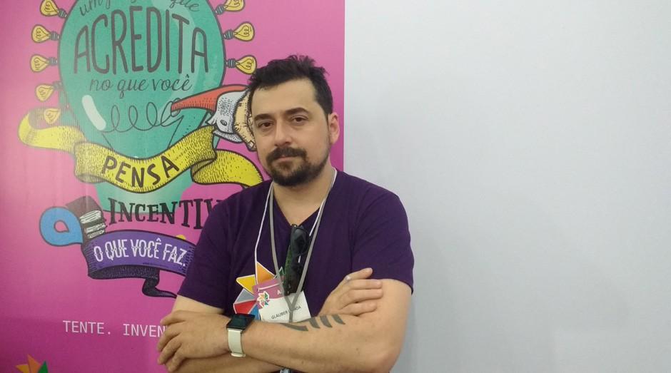 """Glauber Uchoa, do Sebrae-CE: """"Jovens podem faturar com economia criativa"""" (Foto: Fabiano Candido)"""