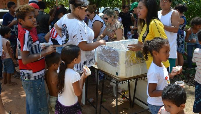 Torcedores do Vasco de RO (Foto: Renato Pereira)