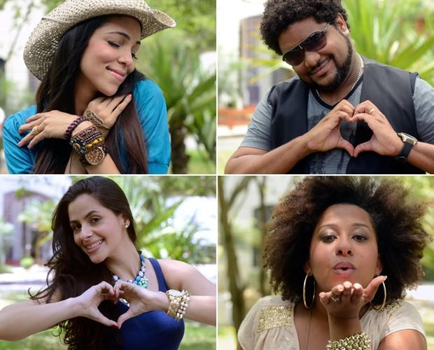 Participantes momentos picantes (Foto: The Voice Brasil/TV Globo)