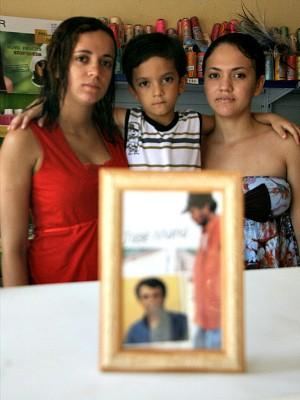 Filhos do líder José Maria (Foto: Melquíades Júnior/Agência Diário)