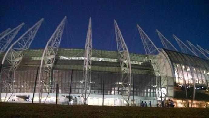Arena Castelão, em Fortaleza x Paysandu  (Foto: Juscelino Filho)