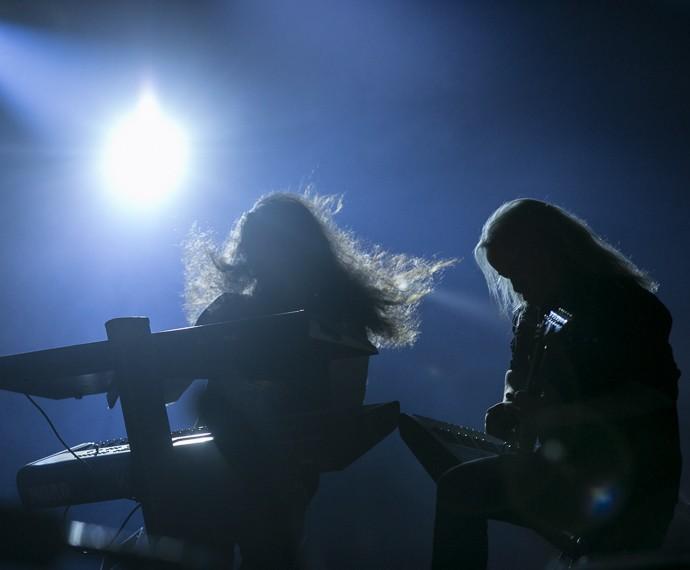 Esta é a primeira vez do Nightwish no Rock in Rio (Foto: Inácio Moares/Gshow)