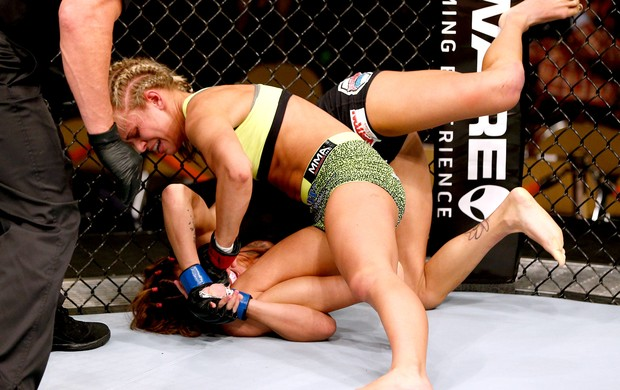 Paige VanZant x Kailin Curran UFC (Foto: Getty Images)
