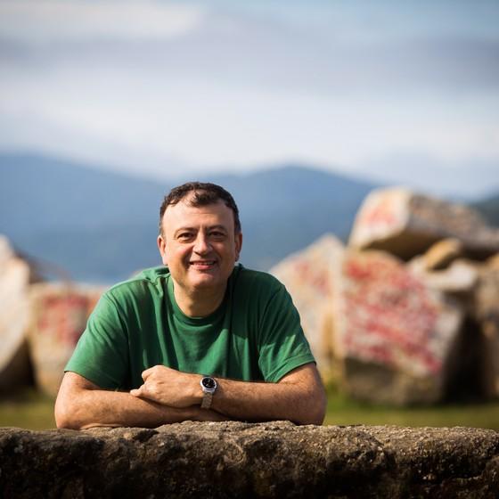 Christian Dunker, psicanalista, professor e escritor, na FLIP de 2016.  (Foto: Bárbara Lopes)