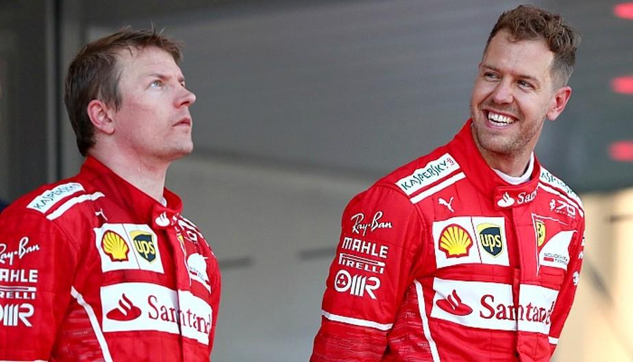 Números mostram que Ferrari favoreceu Vettel para ultrapassar Raikkonen