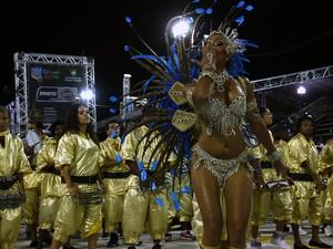 Destaque inspira a bateria da Imperatriz Leopoldense (Foto:  Evandro Oliveira/PMPA)