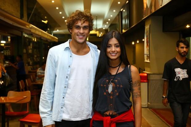 Felipe Roque e Aline Riscado (Foto: Wallace Barbosa/ Ag News -)