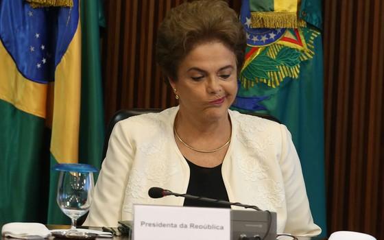 Dilma Roussef ex-presidente (Foto:  ANDRÉ DUSEK/ESTADÃO CONTEÚDO)