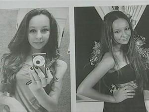 Mariane estava desaparecida há um mês (Foto: Reprodução RBS TV)