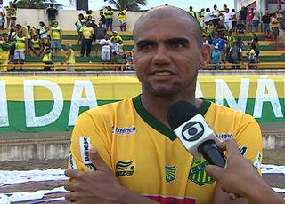 Cristiano Alagoano é o artilheiro da competição (Foto: Reprodução/TV Sergipe)