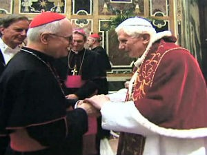 Dom Odilo foi criado cardeal, em 2007, por Bento XVI (Foto: Reprodução/RPC TV)