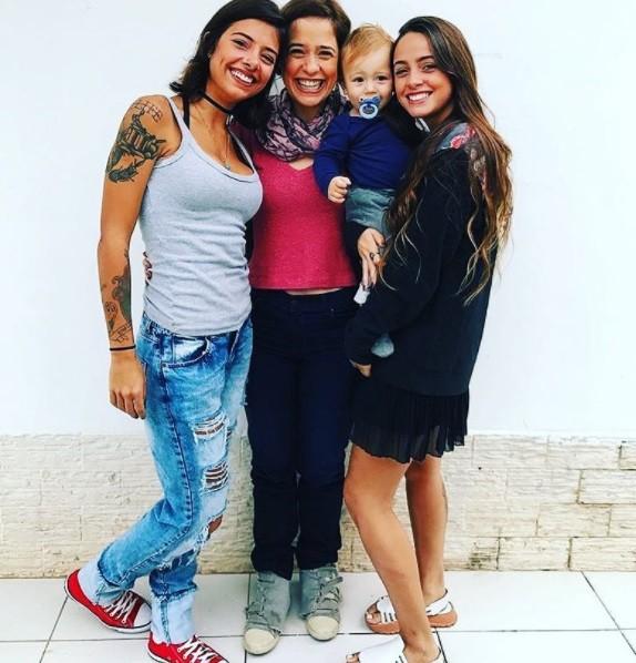 Paloma Duarte e os filhos (Foto: Reprodução / Instagram)