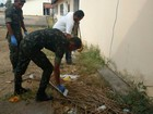 Campanha mobiliza 200 militares e agentes no combate ao Aedes, no AP