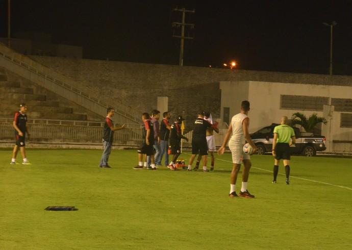 Auto Esporte x Campinense, Campeonato Paraibano (Foto: Cisco Nobre / GloboEsporte.com)