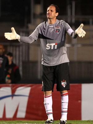 Rogério Ceni São Paulo jogo Atlético-GO (Foto: Gaspar Nóbrega/VIPCOMM)