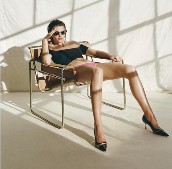 A modelo Georgia Fowler (Foto: Instagram)