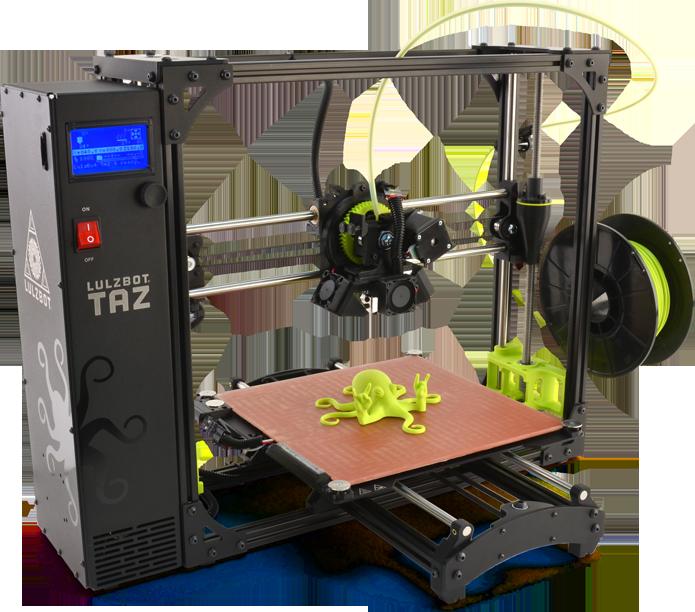 A TAZ 6 traz ótima qualidade de impressão 3D (Foto: Divulgação/Lulzbot)