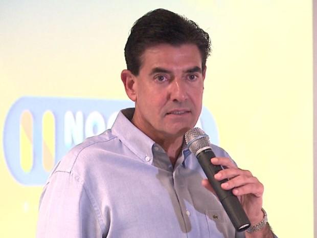 O novo prefeito de Ribeirão Preto, Duarte Nogueira (PSDB) (Foto: Reprodução/EPTV)