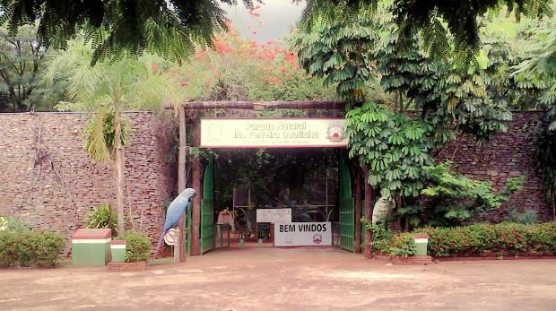 Parque Municipal Ilton Ferreira Coutinho (Foto: Reprodução/TVCA)