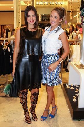 Vera Viel e Ticiane Pinheiro em evento em São Paulo (Foto: Manuela Scarpa/ Foto Rio News)