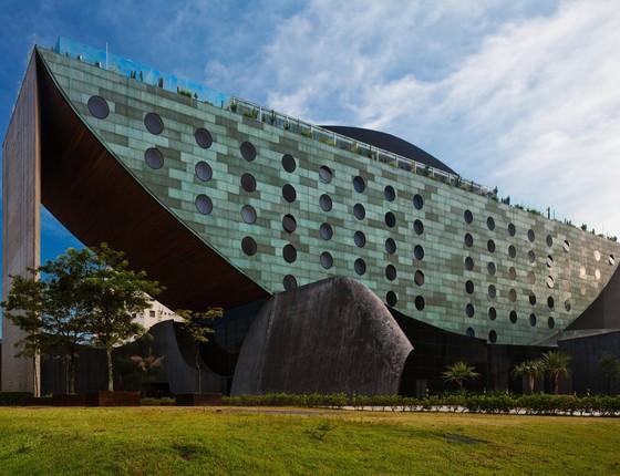 O Hotel Unique, em São Paulo, foi o local escolhido pelo jogador para o leilão beneficente (Foto: Divulgação)