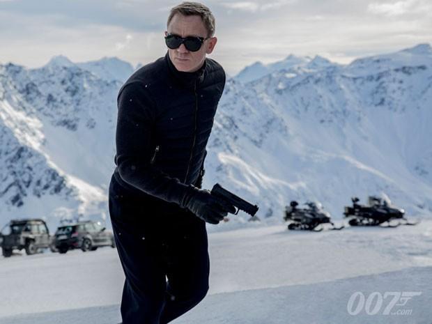 c148e7ce4c1 Daniel Craig como James Bond na primeira imagem de divulgação do filme   Spectre  (