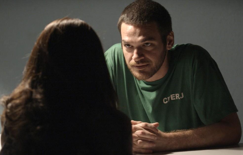 Rubinho ainda não desistiu de reconquistar a sua liberdade (Foto: TV Globo)