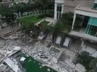 Área de lazer de prédio em Vitória (ES) desaba e fere quatro pessoas