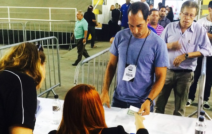 Eleições Vasco Edmundo (Foto: Edgard Maciel de Sá)