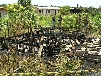 incêndio casa prudentópolis (Foto: Reprodução/RPC TV)