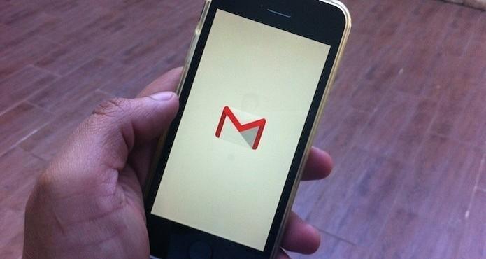 Como desativar as notificações do Gmail no celular? (Foto: Marvin Costa/TechTudo)