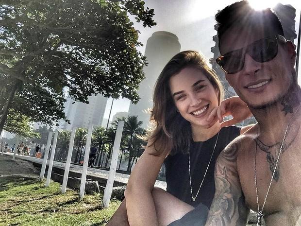 Marcela Fetter  e Rodrigo Lima (Foto: Reprodução / Instagram)