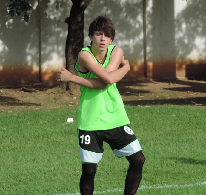 Nilton Neto atacante Presidente Prudente Futebol Clube PPFC (Foto: Ronaldo Nascimento / Globoesporte.com)
