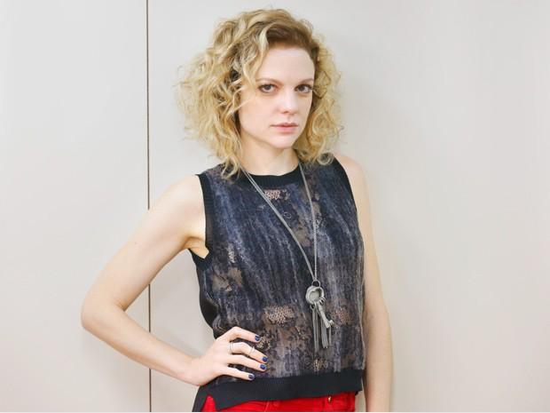 Atriz diz que ficou com medo de a personagem ser repelida por causa de sua sinceridade (Foto: Ellen Soares/Gshow)