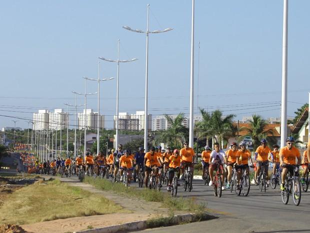Sistema Mirante promove segundo passeio ciclístico (Foto: Flora Dolores/O Estado)