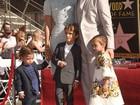 Matthew McConaughey ganha estrela na Calçada da Fama; veja fotos