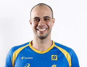 Teixeira, seleção brasileira handebol (Foto: Divulgação/CBHb)