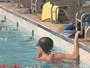 Equipe francesa de natação chega ao RS para treinos antes da Olimpíada