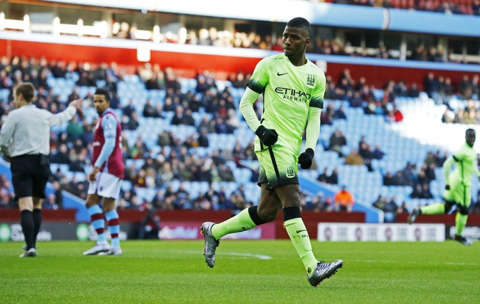 Kelechi Iheanacho - Manchester City x Crystal Palace (Foto: Reuters)