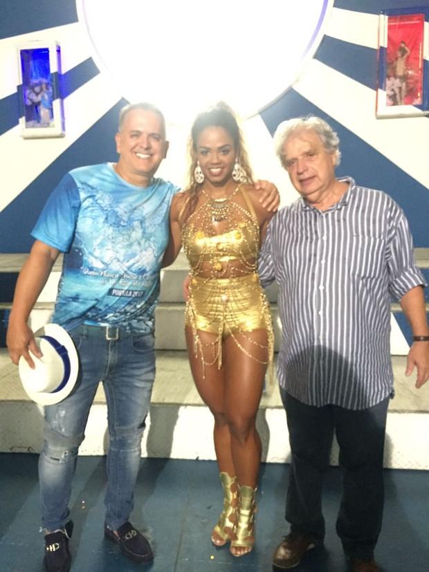 Orlando Morais, Bianca Monteiro e Luis Carlos Magalhães (Foto: Divulgação/Divulgação)