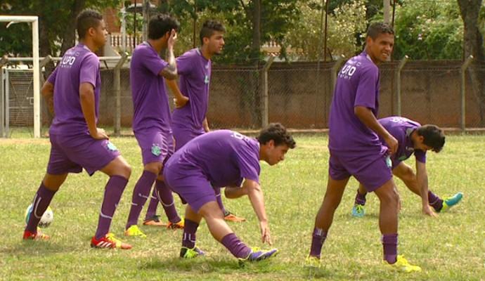 Guarani treino CT Campinas (Foto: Reprodução / EPTV)