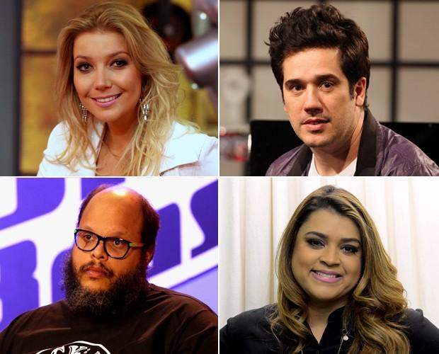 Ed Motta, Luiza Possi, Rogério Flausino e Preta Gil serão os assistentes dos técnicos do The Voice Brasil (Foto: The Voice Brasil / TV Globo)