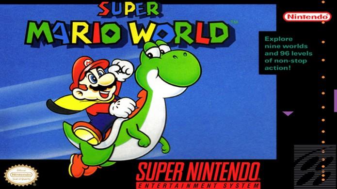25 anos atrás Super Mario World era lançado junto com o Super Nintendo (Foto: Reprodução/Nintendo Wiki)