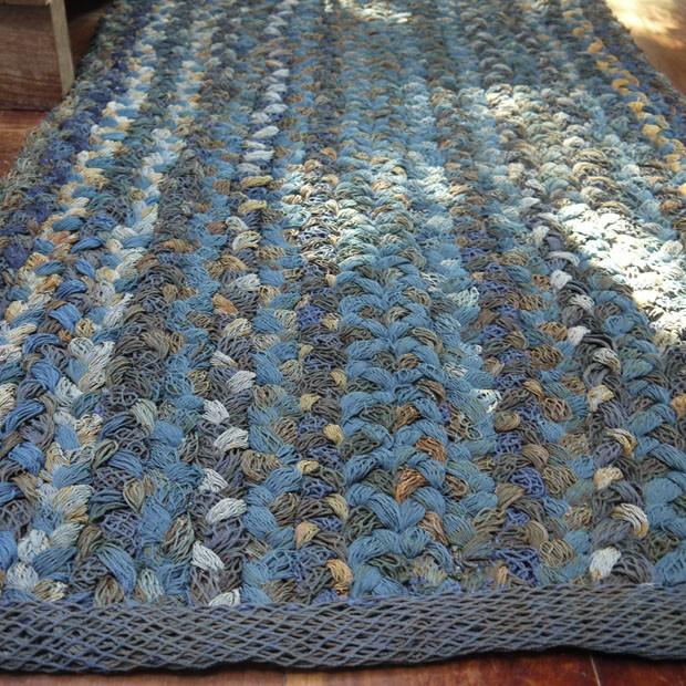 1º lugar na categoria Têxteis - Oceano, de Nara Guichon (Foto: Divulgação)