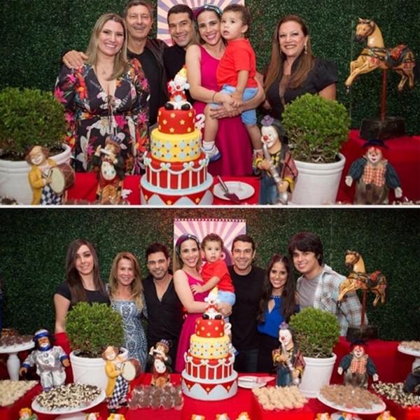 Wanessa e família comemoram o aniversário de José Marcus (Foto: Reprodução / Instagram)