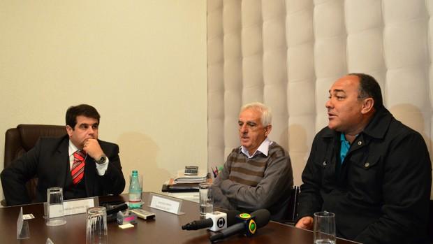 Coletiva São José-SP (Foto: Danilo Sardinha/Globoesporte.com)